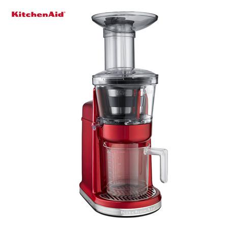 KitchenAid เครื่องแยกกากและสกัดน้ำผลไม้ Maximum Extraction Juicer รุ่น 5KVJ0111CA - Candy Apple Red