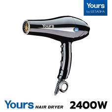 YOURS By LESASHA ไดร์ ไดร์เป่าผม เลอซาช่า 2400W HAIR DRYER รุ่น YR8898 ฟรี! หัวไดร์ 3 หัว ภายในกล่อง