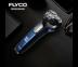 FLYCO เครื่องโกนหนวด ไฟฟ้า 3 หัว แบบเปียกและแห้ง กันจอน ELECTRIC SHAVER FS0003 ใช้ 90 นาที ชาร์จ 1 ชม. (ประกัน 2 ปี)