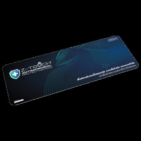Z-Touch แผ่นฆ่าเชื้อไวรัสและแบคทีเรีย สำหรับติดเคาน์เตอร์ รุ่น COUNTER PAD สีน้ำเงิน