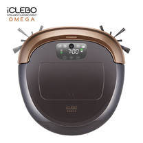 หุ่นยนต์ดูดฝุ่น iClebo รุ่น OMEGA - Glossy Brown