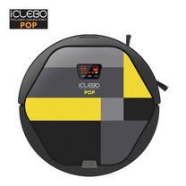 หุ่นยนต์ดูดฝุ่นอัตโนมัติ iClebo รุ่น POP Black-Yellow