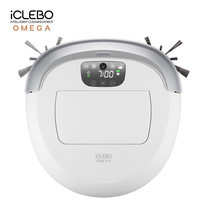 หุ่นยนต์ดูดฝุ่น iClebo รุ่น OMEGA - Pure White