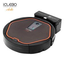 หุ่นยนต์ดูดฝุ่นอัตโนมัติ iClebo รุ่น ARTE Black-Orange