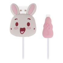 ตัวถนอมสายชาร์จ Golette Wire Protector for iPhone รุ่น Rabbit - Pink