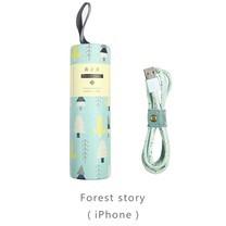 สายชาร์จ Maoxin iPhone รุ่น X1 - Forest story