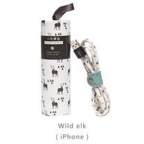 สายชาร์จ Maoxin iPhone รุ่น X1 - Wild elk