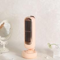 พัดลมไอเย็น เครื่องเพิ่มความชื้นในอากาศ Humidifier-สีชมพู
