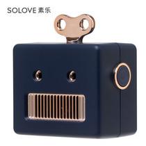 Solove ลำโพงพกพา รุ่น Robot - Navy