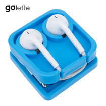 ที่เก็บสายหูฟัง Golette Earphone Holder รุ่น Lego - Blue