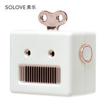 Solove ลำโพงพกพา รุ่น Robot - White