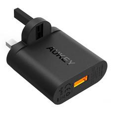 อะแดปเตอร์ Aukey 1 port Quick Charge Qualcomm 3.0