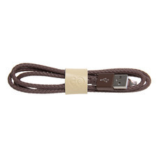 สายชาร์จ Golette Micro USB รุ่น Tube - Brown