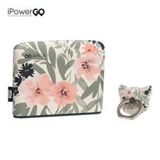 แบตเตอรี่สำรอง iPowergo 10400 mAh - Flower