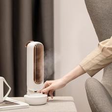 พัดลมไอเย็น เครื่องเพิ่มความชื้นในอากาศ Humidifier-สีขาว