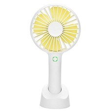 Funlab พัดลมมือถือสีหวาน - สีขาว/เหลือง
