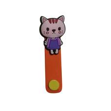 ที่รัดสายชาร์จ/หูฟัง iPowerGo - แมวส้ม