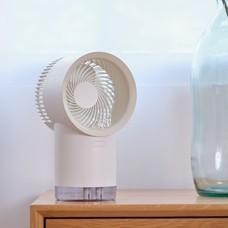 พัดลมตั้งโต๊ะไอเย็น Mist Humidifier