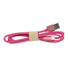 สายชาร์จ Golette TYPE-C รุ่น Tube - Pink