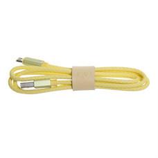 สายชาร์จ Golette Micro USB รุ่น Tube - Yellow