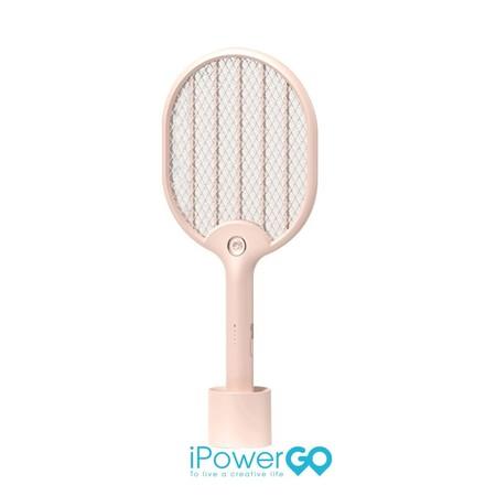 Mi 3Life ไม้ตียุงไฟฟ้า ไม้ช็อตยุง Mosquito Swatter -Pink