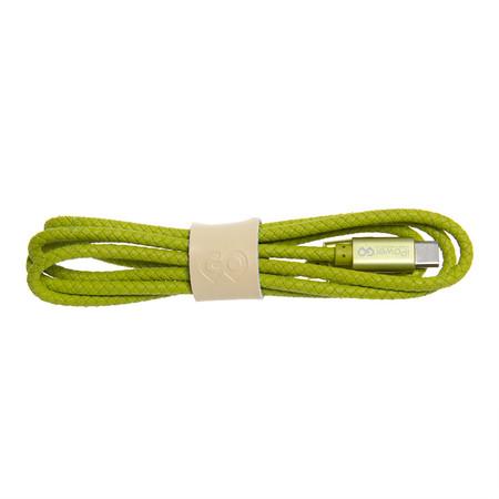 สายชาร์จ Golette TYPE-C รุ่น Tube - Green