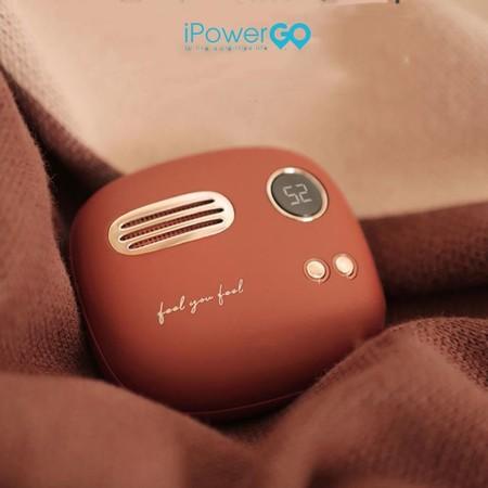 Hands Warmer + Power-Bank