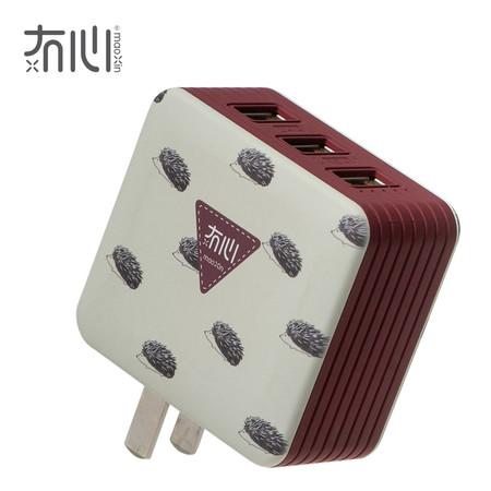 Maoxin หัวชาร์จ 3 USB - Hedgehog