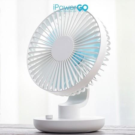 พัดลมตั้งโต๊ะทำงาน รุ่น 209 By iPowerGo - สีขาว