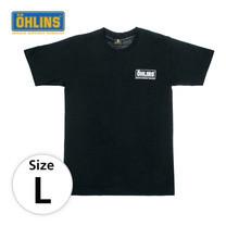 เสื้อยืด Ohlins แท้ (โลโก้ขาว) ไซส์ L