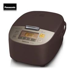 Panasonic หม้อหุงข้าวไมคอม 1.0 L รุ่น SR-ZS105TSN (น้ำตาลแดง)