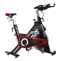 Power Reform จักรยานออกกำลังกายฟิตเนส Commercial Spin Bike รุ่น Speed Bike-Black/Red