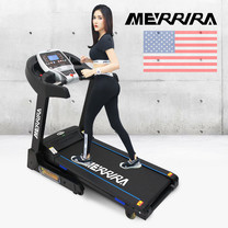Merrira ลู่วิ่งไฟฟ้า Treadmill 3 แรงม้า Merrira รุ่น MRTT900 ฟรี 6 Pack EMS
