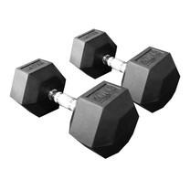 Power Reform ดัมเบลยกน้ำหนัก รุ่น Fix แบบเหลี่ยม 20 kg คู่ (2 ข้าง)
