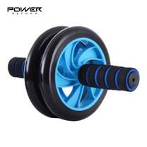 Power Reform Ab Wheel ลูกกลิ้งเล่นหน้าท้อง ล้อทรมานพุง รุ่น Double Wheels