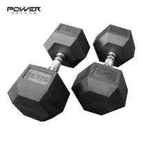 Power Reform ดัมเบลยกน้ำหนัก รุ่น Fix แบบเหลี่ยม 22.5 kg คู่ (2 ข้าง)