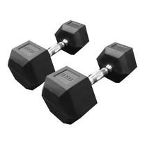 Power Reform ดัมเบลยกน้ำหนัก รุ่น Fix แบบเหลี่ยม 8 kg คู่ (2 ข้าง)