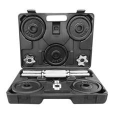 Power Reform ดัมเบลกล่อง Black Plate 15 kg (ฟรี! แกนต่อ 30 cm)