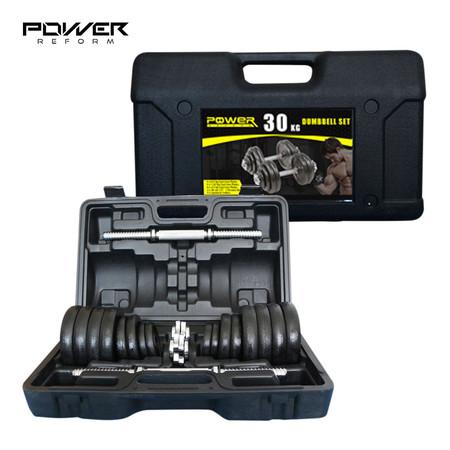 Power Reform ดัมเบลกล่อง Black Plate 30 kg