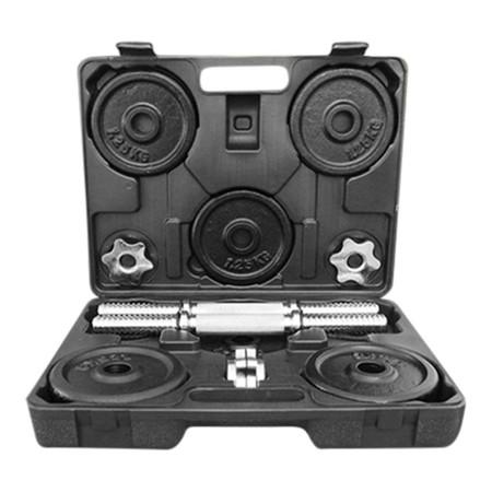 Power Reform ดัมเบลกล่อง Black Plate 20 kg (ฟรี! แกนต่อ 30 cm)