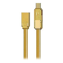 สายชาร์จ REMAX Cable 3in1 Lightning/Micro/Type-C (GPLEX,Gold)