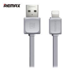 REMAX สายชาร์จแบบ Lightning Cable For IPhone i5/i6 รุ่น RC - 008i (1M,สายแบน)