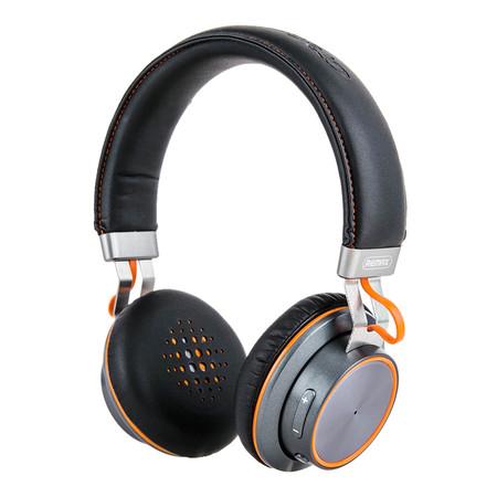 REMAX Bluetooth Headphone รุ่น 195HB - Black/Orange
