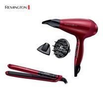 Remington Silk Set S9600 เครื่องหนีบผมซิลค์เซรามิค + AC9096 ไดร์เป่าผม ซิลค์