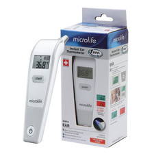 Microlife เทอร์โมมิเตอร์วัดอุณหภูมิทางช่องหู ระบบอินฟาเรด รุ่น IR1DF1-1
