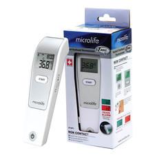 Microlife เทอร์โมมิเตอร์วัดอุณหภูมิทางหน้าผาก ระบบอินฟราเรด รุ่น FR1DL1