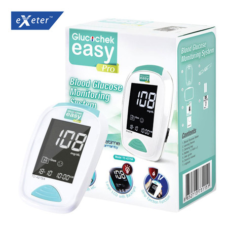 Exeter เครื่องวัดระดับน้ำตาลในเลือด (Glucochek Easy Pro)