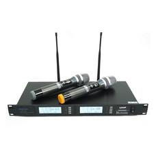 Sherman ชุดไมโครโฟนไร้สาย Wireless รุ่น MIC-420 (Black)