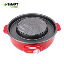 SMART HOME เตาปิ้งย่างอเนกประสงค์ รุ่น SM-EG1300/1 (Red)