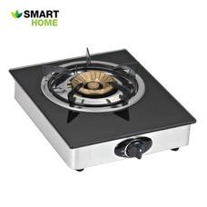 เตาแก๊สแบบกระจกหัวเดียว SMART HOME รุ่น SM-GA1H01